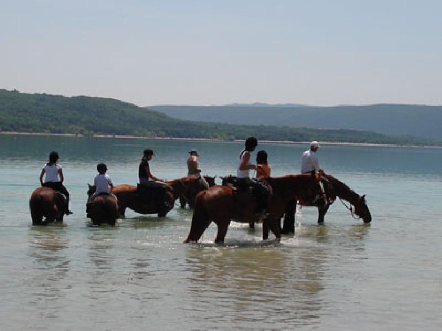 randonnee cheval gorges du verdon