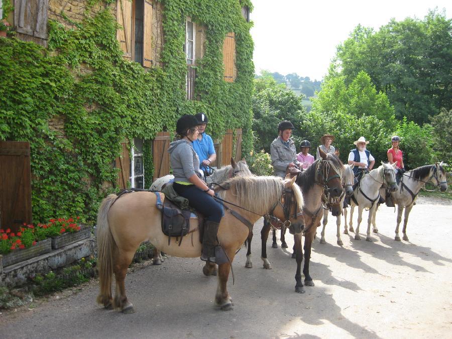 rando Balade à cheval Saône-et-Loire