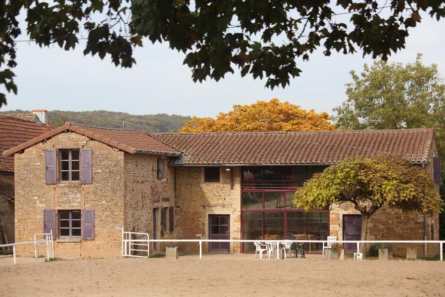 gite equestre Laizé Saône-et-Loire Domaine de Laizé