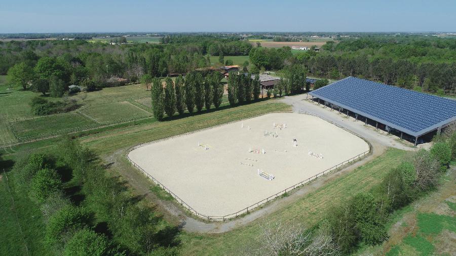 pension cheval à Thézac Charente-Maritime Saintonge