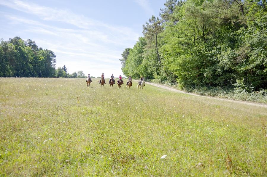 rando Randonnée équestre Dordogne