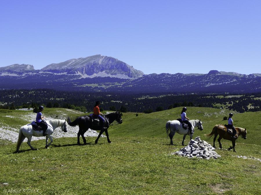 rando Randonnée équestre Drôme
