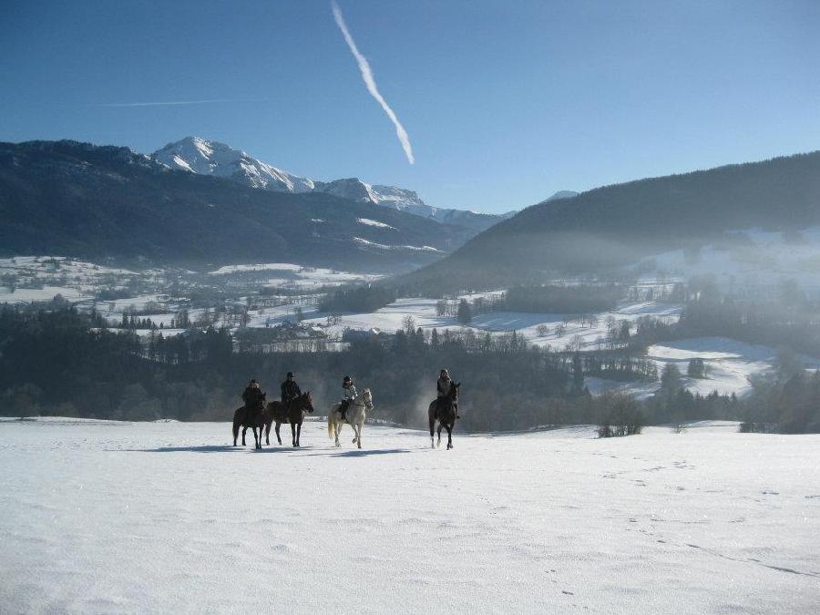 rando Randonnée équestre Savoie