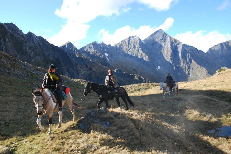 rando Voyage à cheval Haute-Garonne