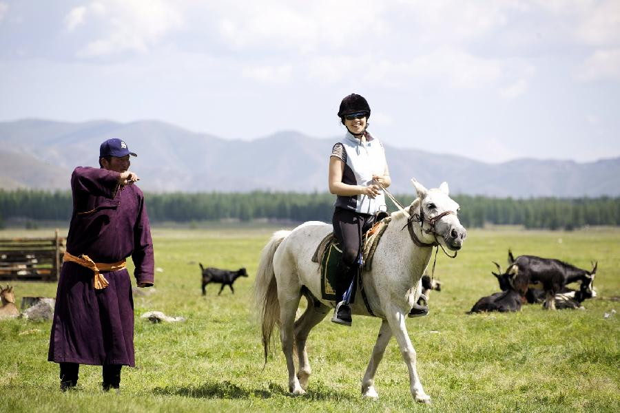 rando Randonnée équestre MONGOLIE