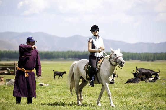 Photo voyage a cheval MONGOLIE