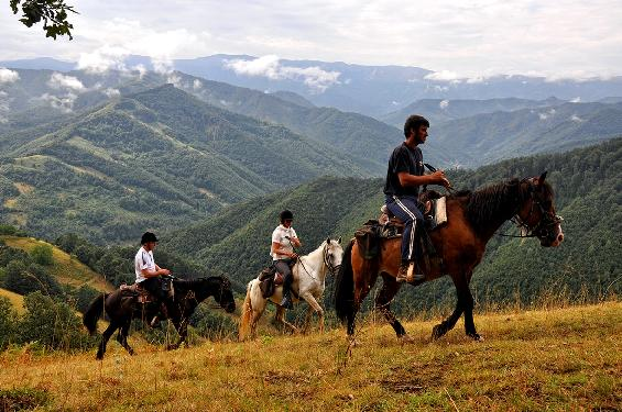 Photo voyage a cheval BULGARIE