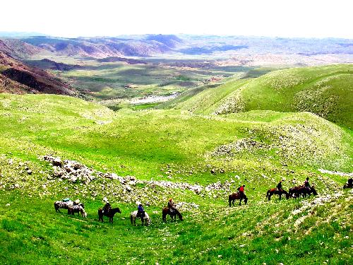 Photo voyage a cheval KIRGHIZISTAN