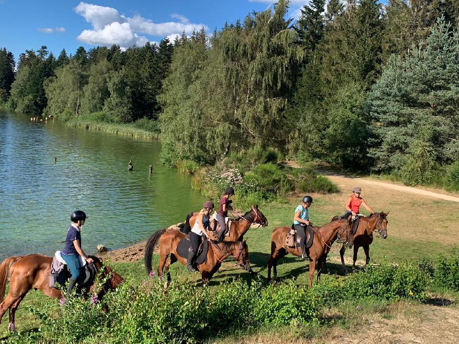 rando Randonnée équestre Ardèche