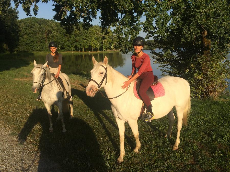 rando Balade à cheval Dordogne