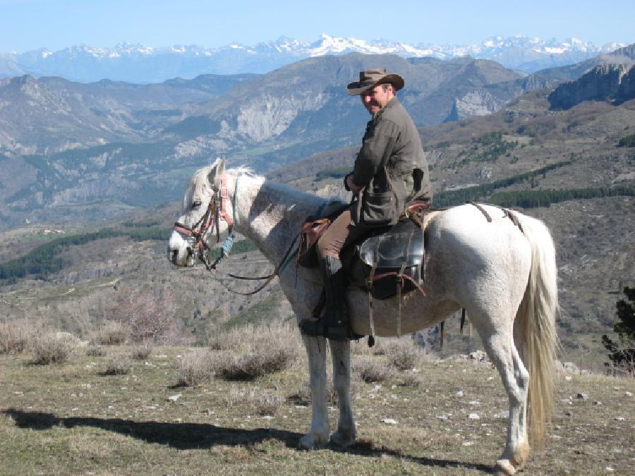 stage Initiation à l'équitation Alpes de Haute-Provence