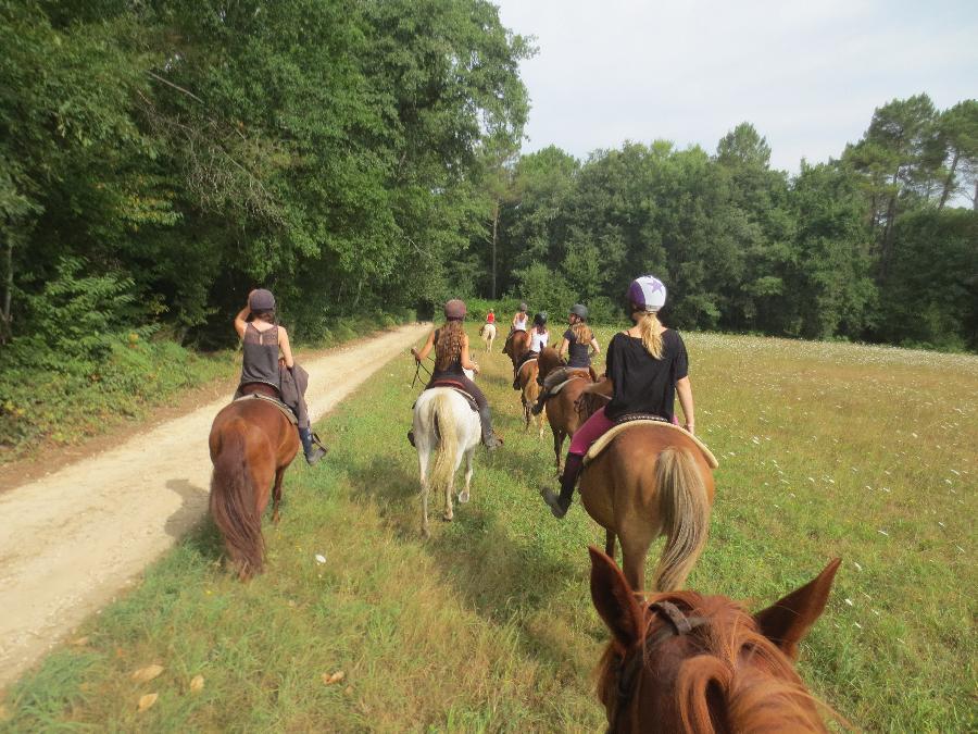 stage Equitation de pleine nature Dordogne