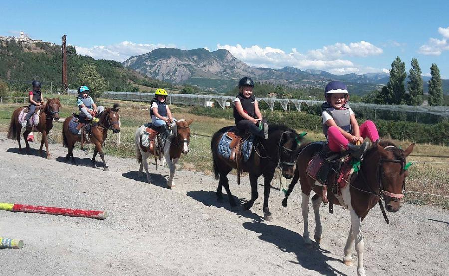 stage Equitation de pleine nature Hautes-Alpes